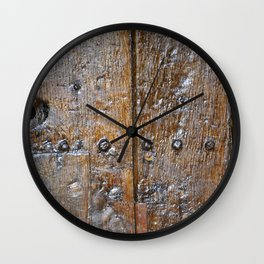 Oxford door 7 Wall Clock