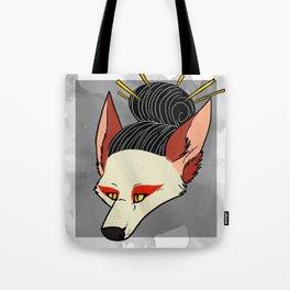 Tricky Kitsune Tote Bag