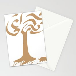 Parallel Tree Stationery Cards