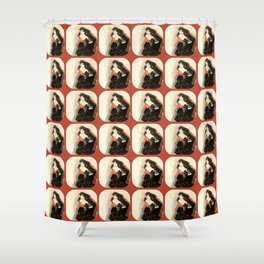 "Gustav Klimt ""Study for Judith II"" Shower Curtain"