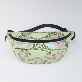 Love is in the air Spring Birds 06 Fanny Pack