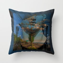 THE HEAD Throw Pillow