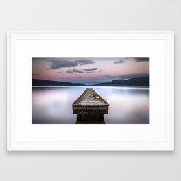 Lake Tarawera - Rotorua - New Zealand Framed Art Print