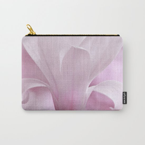 Magnolia flower macro 256 Carry-All Pouch