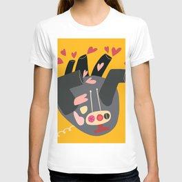 Heart factory abstract art  T-shirt