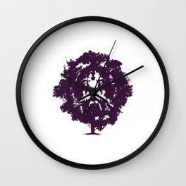 Lion Tree Wall Clock