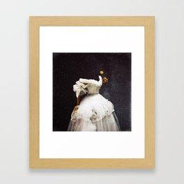 Flowergazer Framed Art Print