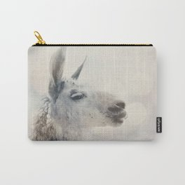 Alpaca in Machu Picchu Carry-All Pouch