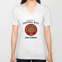 Bali Souvenir College T shirt Unisex V-Neck