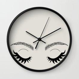 Betty Gone Batty Wall Clock