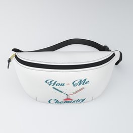 Chemistry Science Scientist Student Couple Gift Fanny Pack