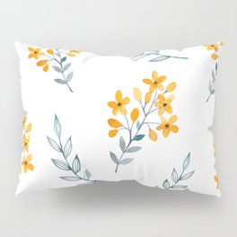 Yellow Flower Obsession Pillow Sham