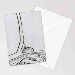 Line Work II Stationery Cards