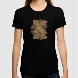 Fall Brown Leaves T-shirt