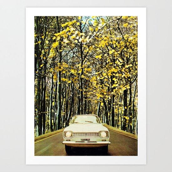 Like a vintage photo. Art Print