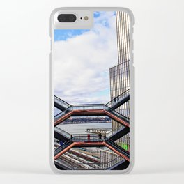 The Vessel, the Sky and the Skyscraper Clear iPhone Case