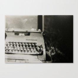 Novelist Canvas Print