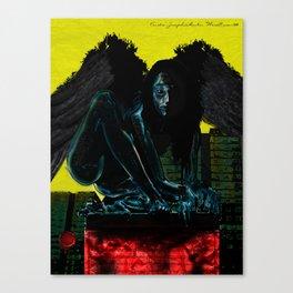 WereRaven / WereCrow Canvas Print