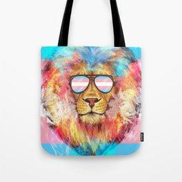 Trans Lion Pride Tote Bag