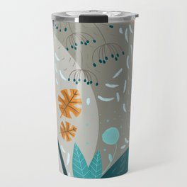 Fall in the forest Travel Mug
