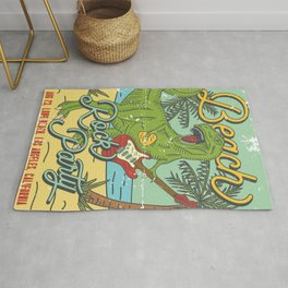 Beach Rock Party Rug