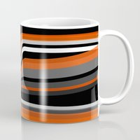 discount Mugs featuring Heat wave by Roxana Jordan
