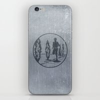 running iPhone & iPod Skins featuring Running by Paul Simms