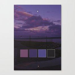 Coloured Sky Canvas Print