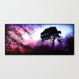 Dream in Purple Canvas Print