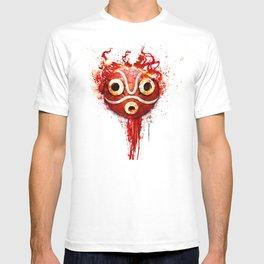 princess mononoke mask  T-shirt