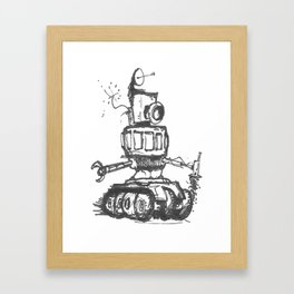 Communication Robot Framed Art Print