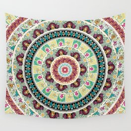 Sloth Yoga Medallion Wall Tapestry