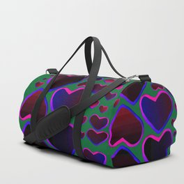 Heart in the countryside Duffle Bag