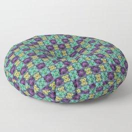 To Da Mardi Gras Floor Pillow