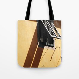 Toscana window Tote Bag