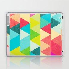 Bubblegum Triangles Pattern Laptop & iPad Skin
