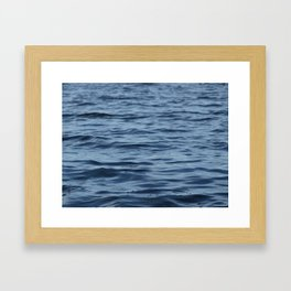 Water A Framed Art Print