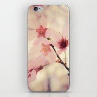 blush iPhone & iPod Skins featuring Blush by Jenndalyn