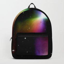rainboW Space Boomerang Nebula Backpack