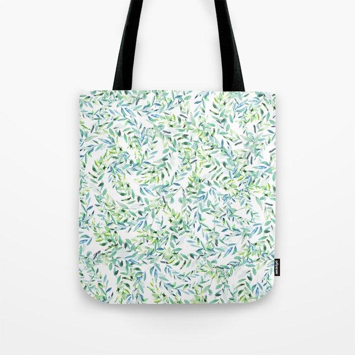 Watercolor Freshness #society6 #decor #buyart Tote Bag