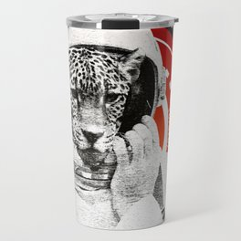 No One Can Hear You Meow in Space Travel Mug