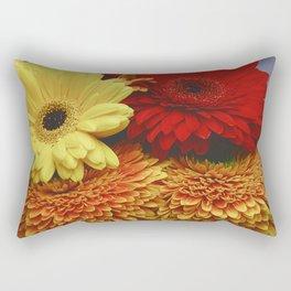 Colorful Germini Rectangular Pillow