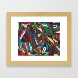Colour by Instinct Framed Art Print