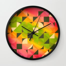 Crash Test Dissonance Disorder Wall Clock
