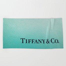Tiffany Beach Towel