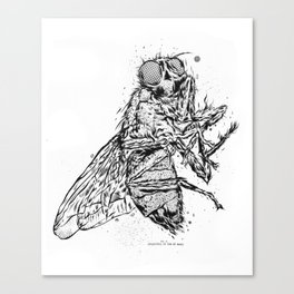 Depending On Size Of Man Canvas Print