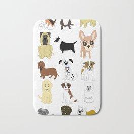 Pet dogs design Bath Mat