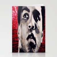 ali gulec Stationery Cards featuring Ali by CjosephART