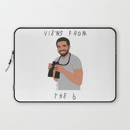 Views From The 6 // Drake Print  Laptop Sleeve