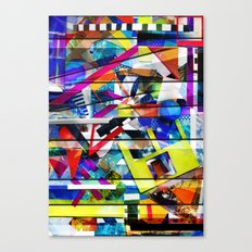 Organized Chaos Canvas Print